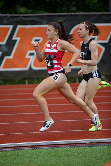 ALISA LYESINA running